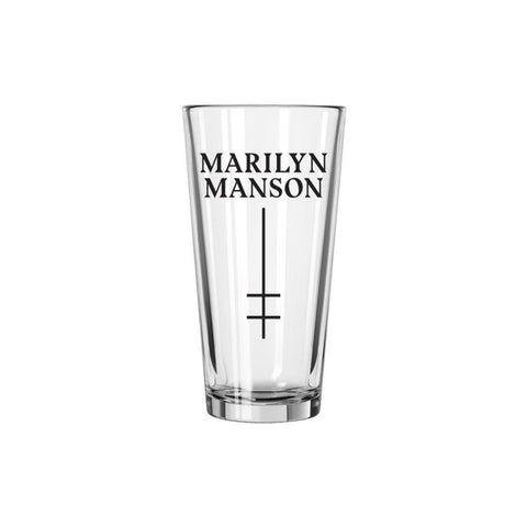 Double Cross Logo Pint Glass