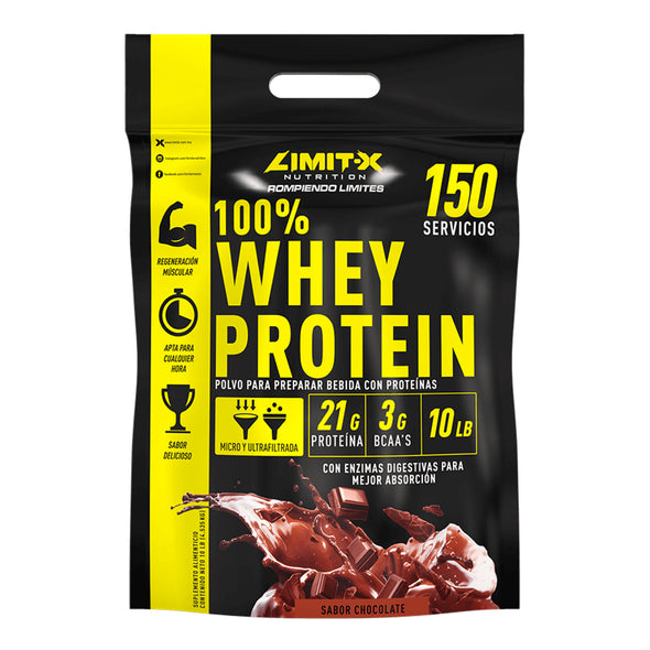LIMIT-X 100% WHEY PROTEIN 10 LB