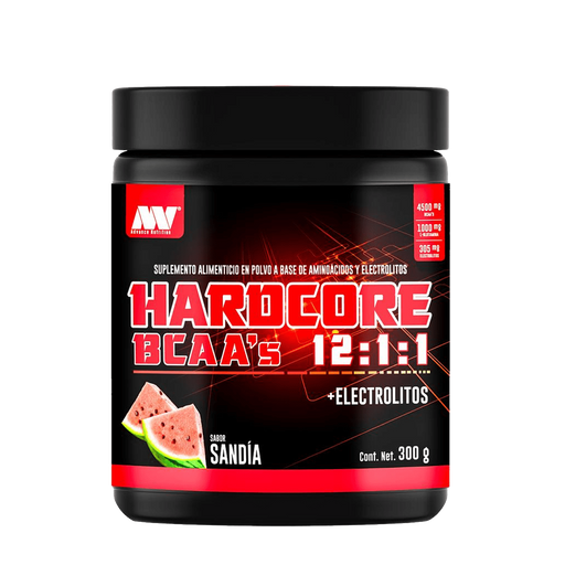 ADVANCE NUTRITION BCAA HARDCORE 12:1:1