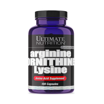 ULTIMATE NUTRITION ARGININE ORNITHINE LYSINE