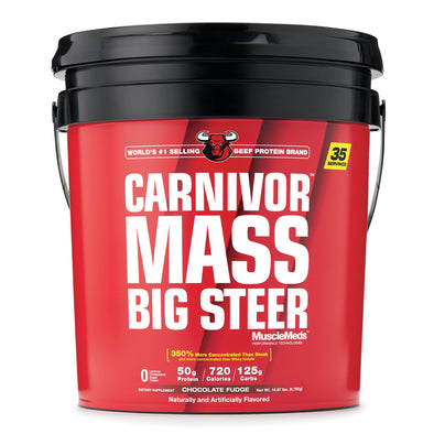 MUSCLEMEDS CARNIVOR MASS BIG STEER 14.97LB