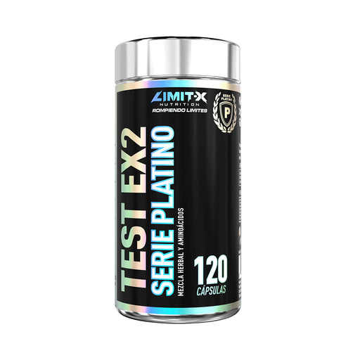 LIMIT-X NUTRITION TEST EX2 SERIES PLATINO 120 CAPS
