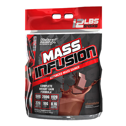 NUTREX MASS INFUSION 12LBS