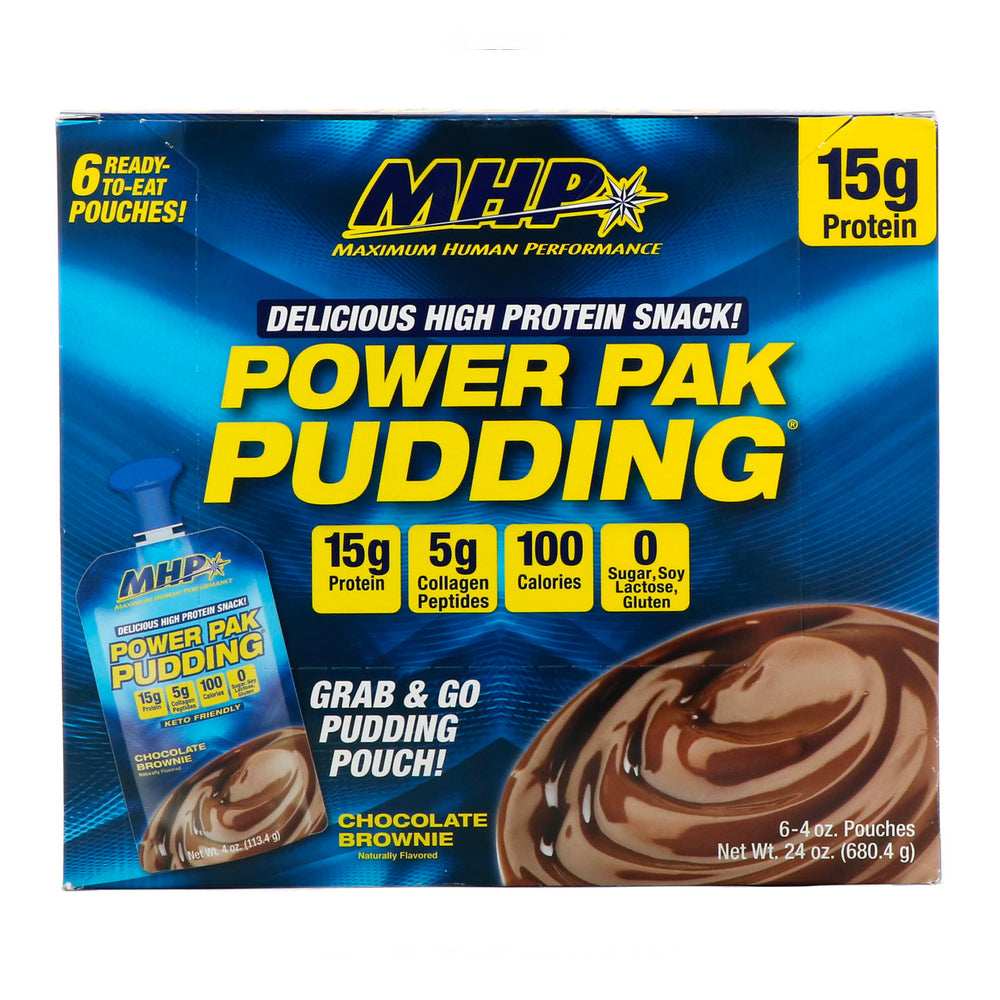 MHP POWER PACK PUDDING 6 PIEZAS