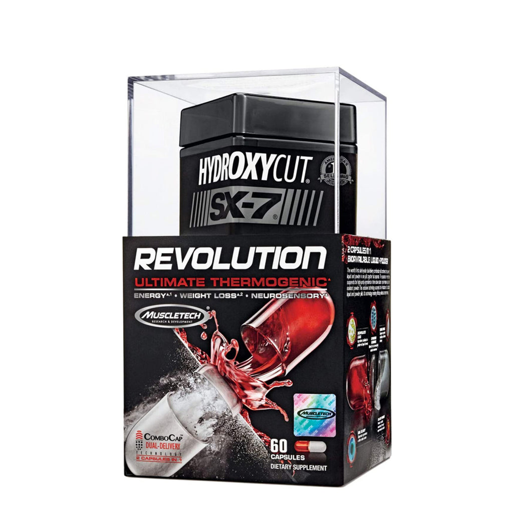 MUSCLETECH HYDROXYCUTS SX-7 REVOLUTION 60 CAPS