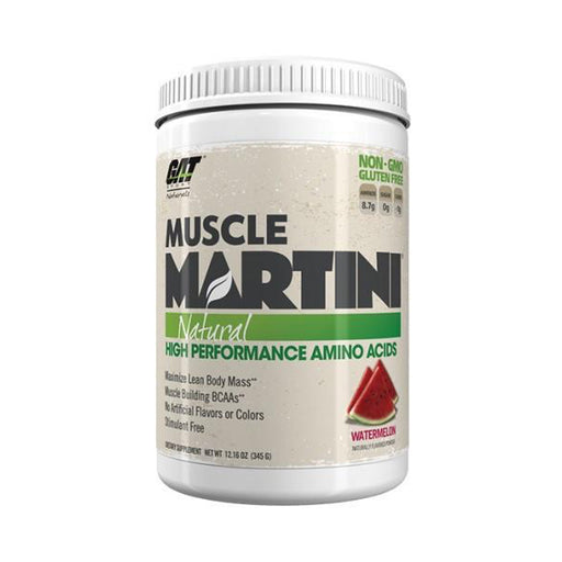 GAT MUSCLE MARTINI NATURAL 30 SERV