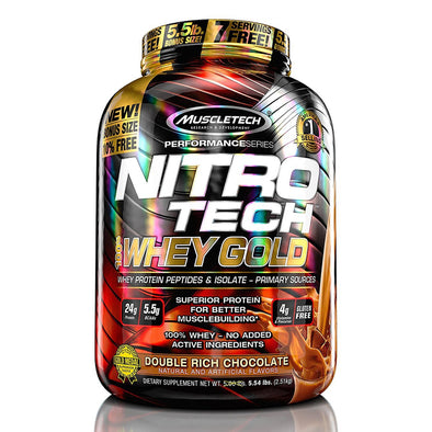 MUSCLETECH NITROTECH WHEY GOLD 5.5LB*