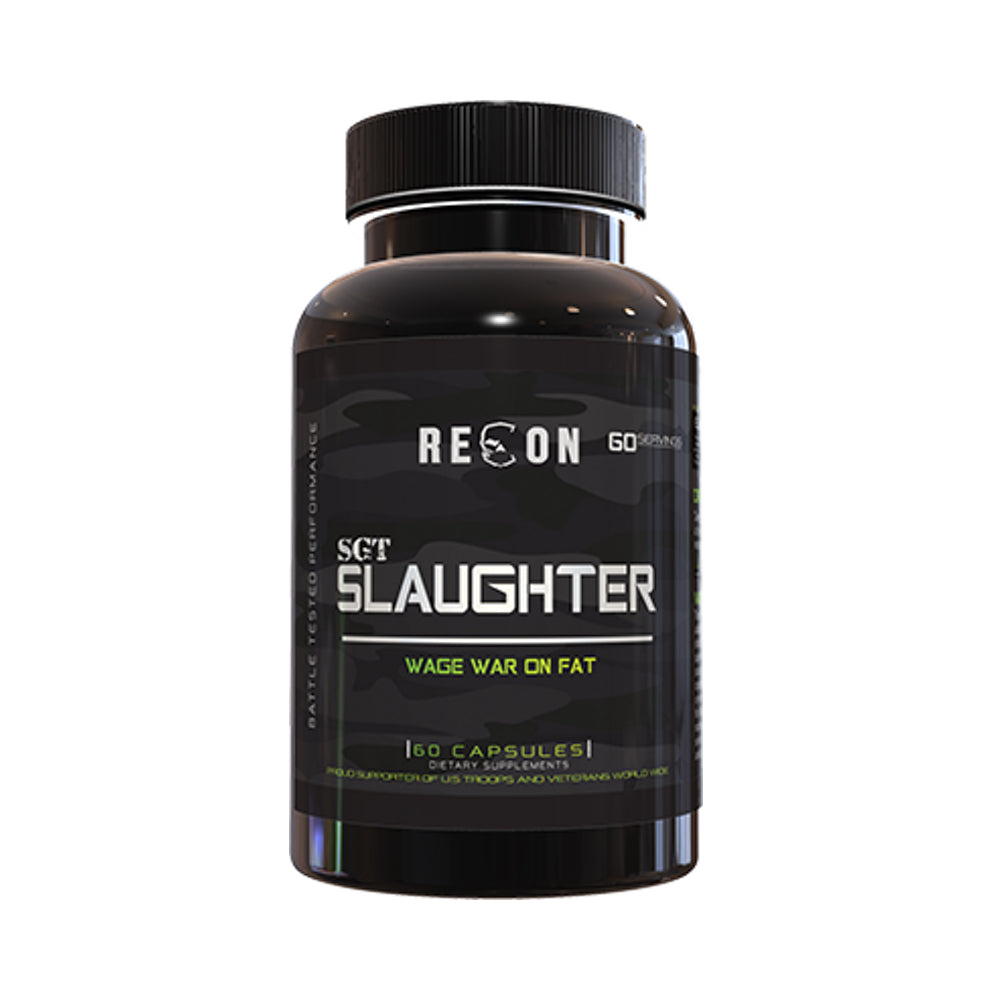 RECON SLAUGHTER 60 CAPSULES + PERFECT SHAKE