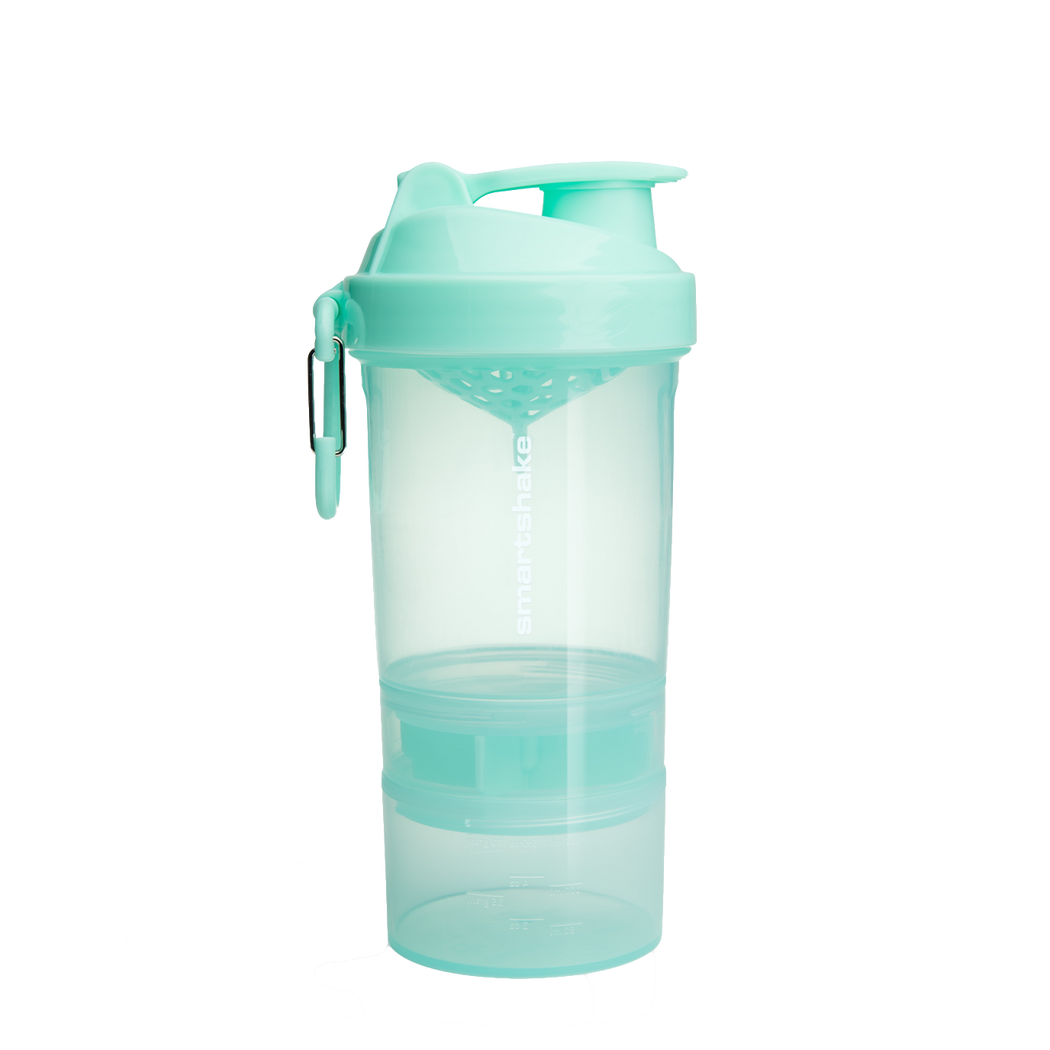 SMARTSHAKE 2GO 600ML MINT GREEN
