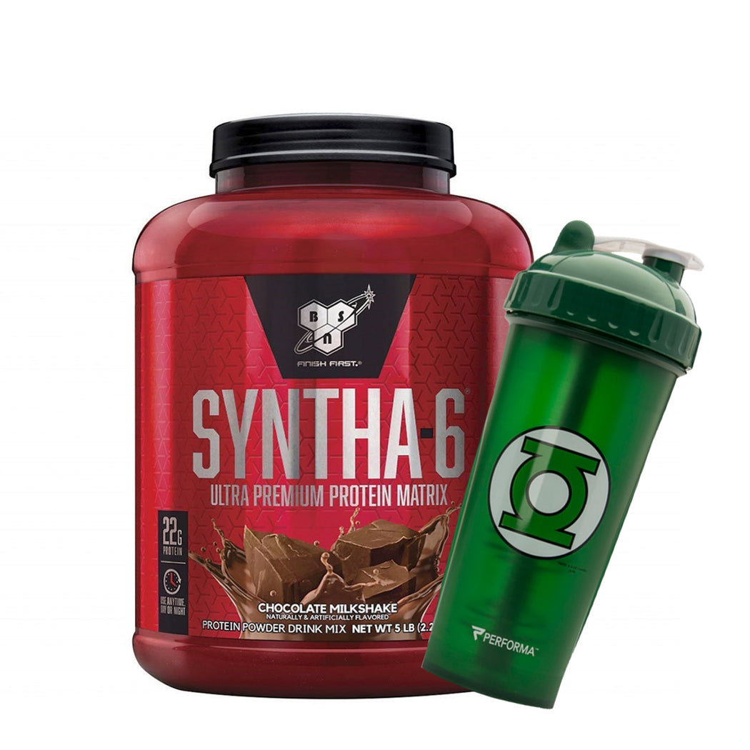 BSN SYNTHA 6 5LB + PERFECT SHAKER