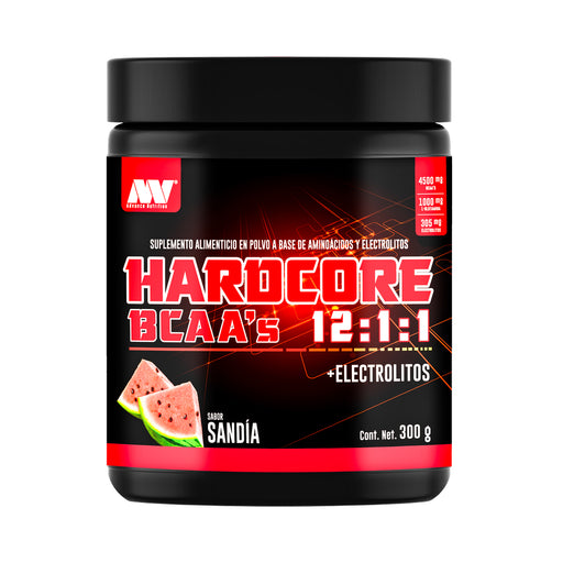 ADVANCE NUTRITION HARDCORE BCAA 12:1:1 300GR