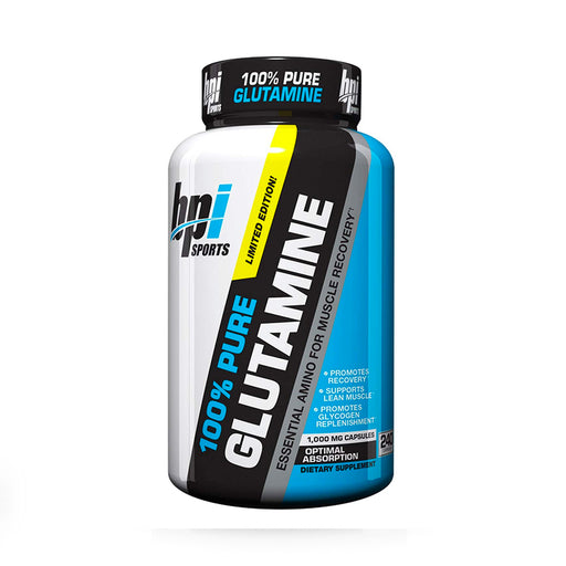 BPI SPORTS 100% PURE GLUTAMINE 240 CAPS