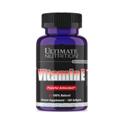ULTIMATE NUTRITION VITAMIN E 100 SOFTGEL