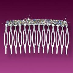 AB Crystal Hair Comb
