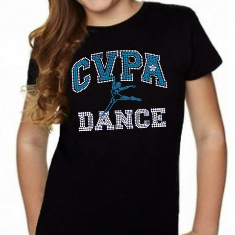 "CVPA ""Bling"" Scoop Neck T-Shirt - Available for a limited time only!"