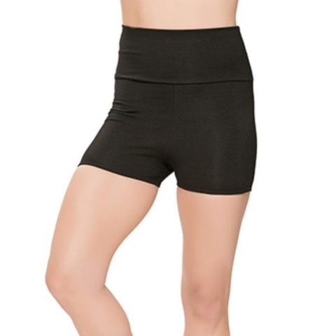 High Waisted Dance Shorts