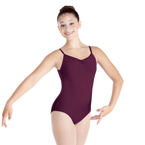 Classic Pinch-Front Camisole Leotard