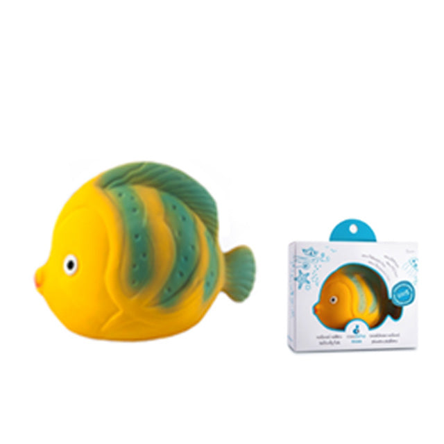 Natural Rubber Bath Toay - La the Butterfly Fish