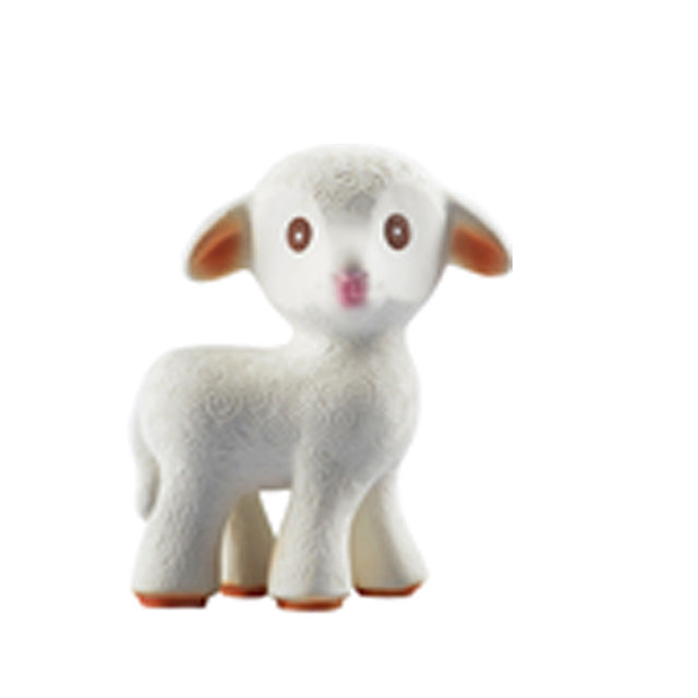 Natural Rubber Teether - Mia the Lamb