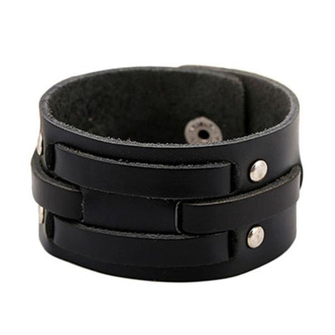 Wreathen Leather Wristband