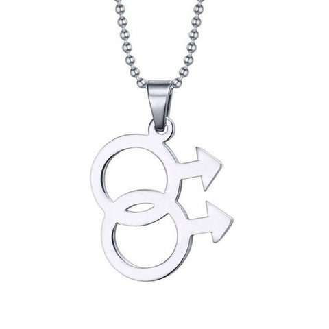Gay Symbol Necklace