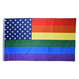 USA Rainbow Flag