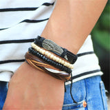 Angel Wing Multilayer Wrap Bracelet