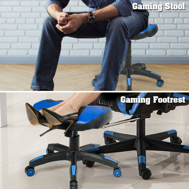Multi-Use Footrest Gaming Stool