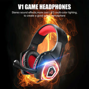 LED Surround Sound Gaming Headset