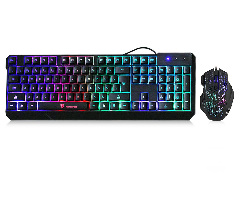 MotoSpeed K70 7-Colors Keyboard and Mouse - Veva Works