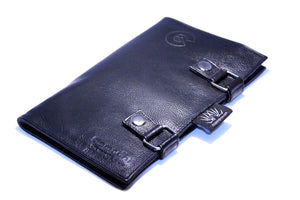 12-Piece Fold-Over Leather Case