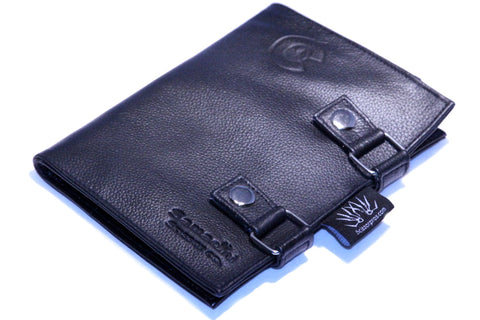 6-Piece Fold-Over Leather Case