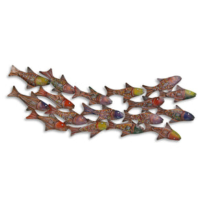 Painted Schooling Fish