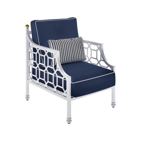 Barclay Butera Cushioned Lounge Chair