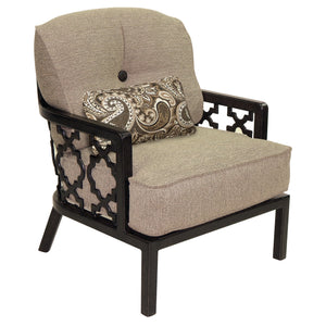 Belle Epoque Cushioned Lounge Chair