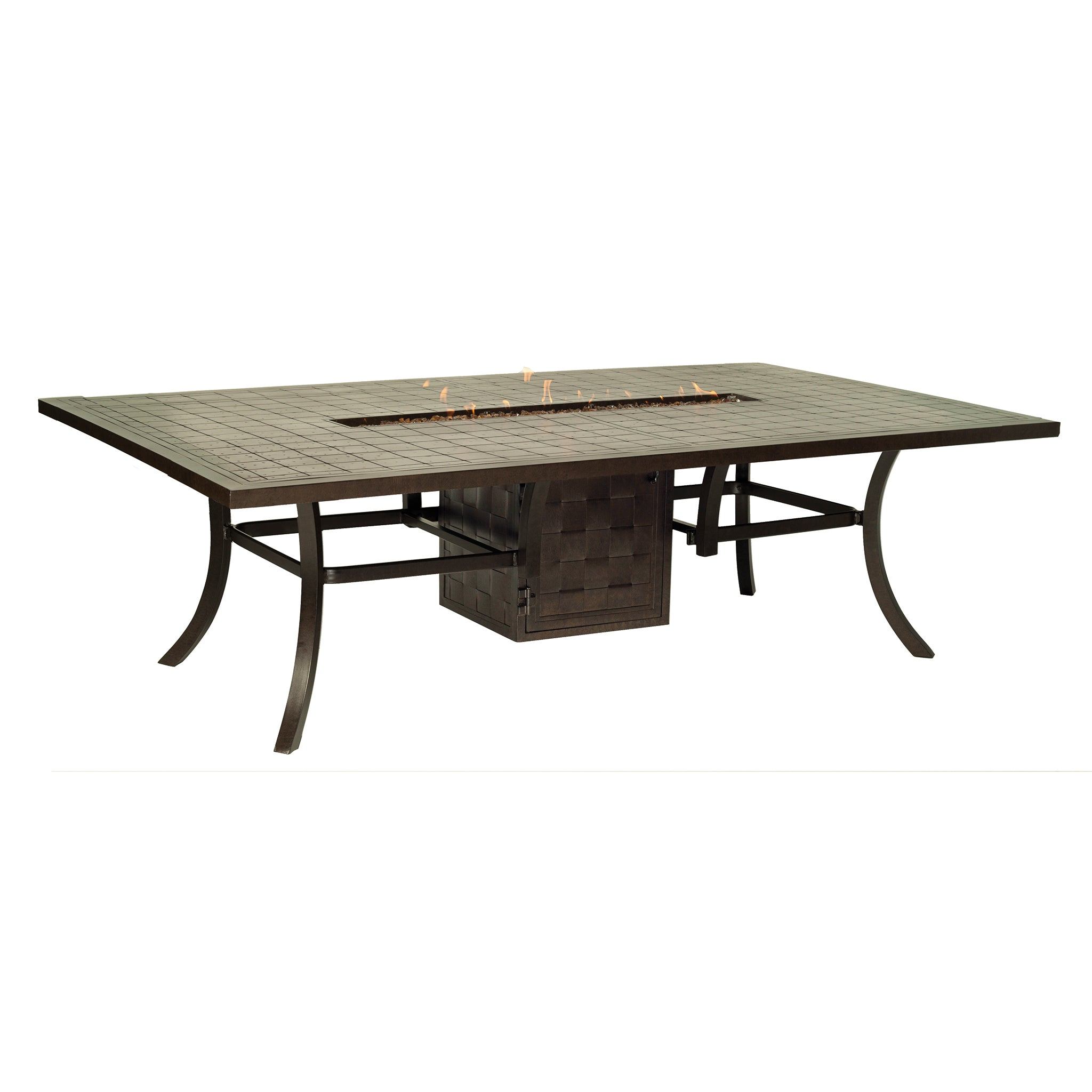 Classical Fire Pit Dining Table