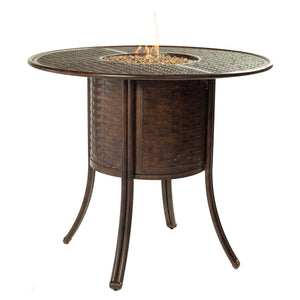 Coco Isle Fire Pit Bar Table