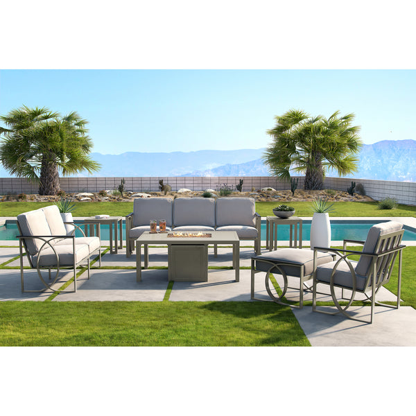 Hermosa Seven Piece Deep Seating Set