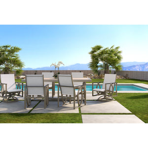 Hermosa Seven Piece Sling Dining Set