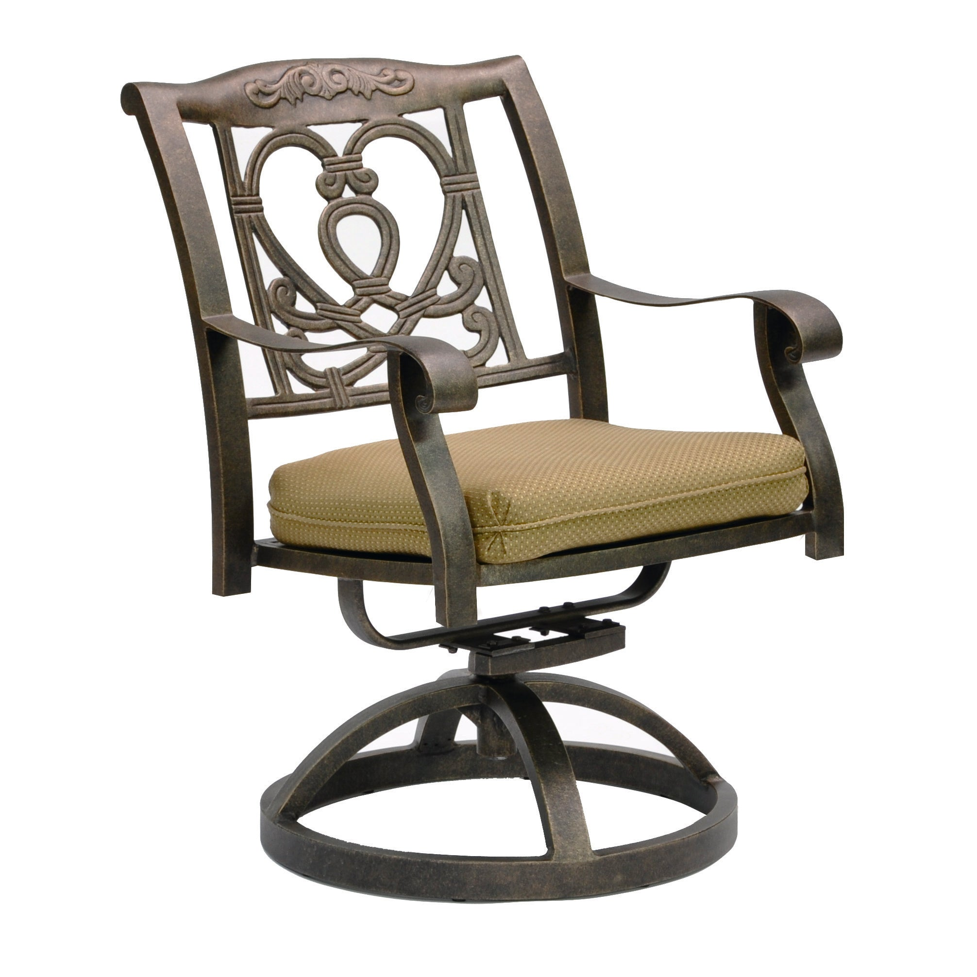 Madrid Cast Swivel Rocker