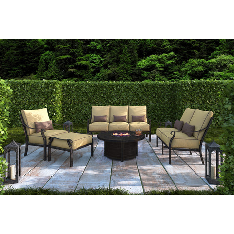 Madrid Five Piece Fire Pit Set