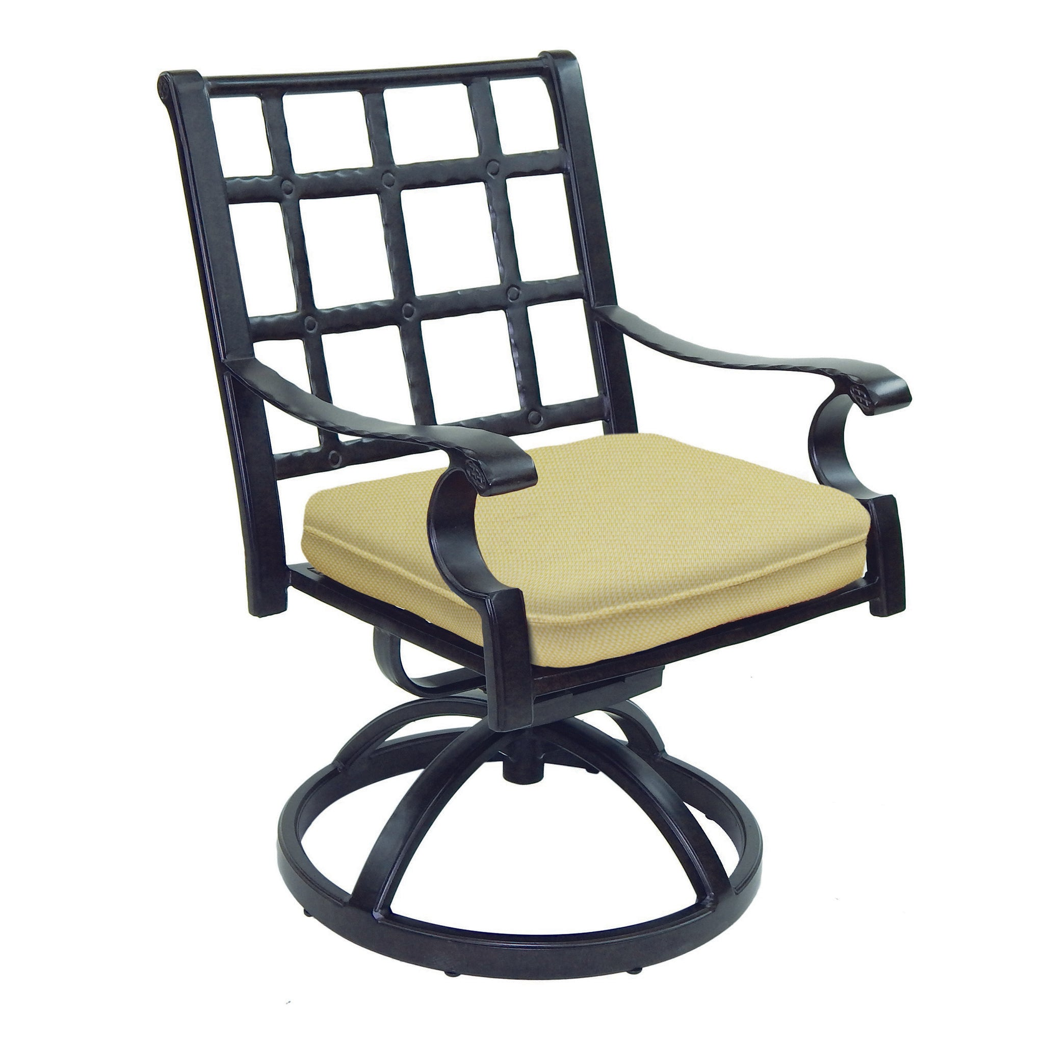 Monterey Cast Swivel Rocker