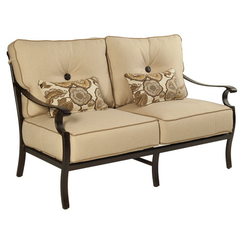 Monterey Cushioned Loveseat