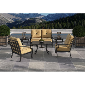 Monterey Six Piece Metro Seating Set