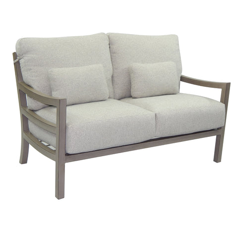 Roma Cushioned Lounge Loveseat