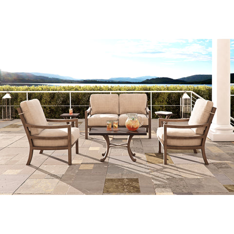 Roma Metro Six Piece Deep Seating Set