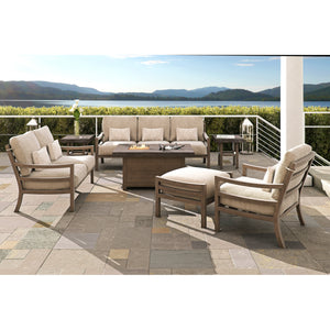 Roma Seven Piece Deep Seating Set