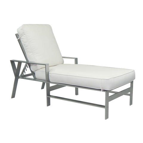 Trento Cushioned Chaise Lounge
