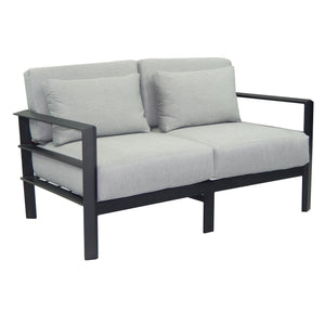 Vertice Cushioned Lounge Loveseat