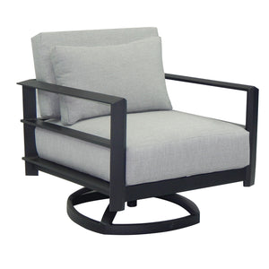 Vertice Cushioned Swivel Rocker